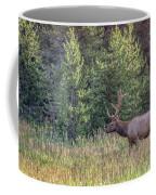 Elk In The Forest Coffee Mug