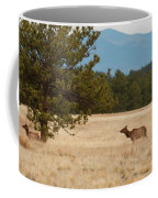 Elk In The Fossil Beds Coffee Mug
