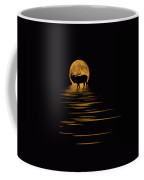 Elk In The Moonlight Coffee Mug by Shane Bechler