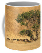 Elk Under Tree Coffee Mug