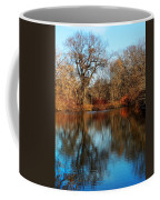 Elm By The Connecticut River In Autumn Coffee Mug