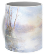 Elmore Park In Winter Coffee Mug