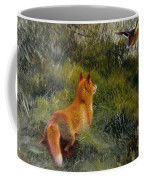 Eluding The Fox Coffee Mug