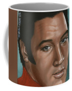 Elvis 24 1968 Coffee Mug