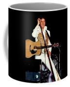 Elvis In Concert Coffee Mug