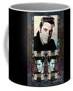 Elvis Presley Montage Coffee Mug