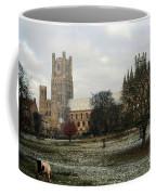 Ely Cambridgeshire, Uk.  Ely Cathedral  Coffee Mug