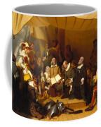 Embarkation Of The Pilgrims Coffee Mug