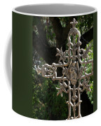 Embellished Cross Coffee Mug