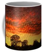 Embossed Sunrise Coffee Mug