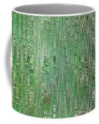 Emerald Green - Abstract Art Coffee Mug