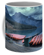 Emerald Lake Canoes Coffee Mug