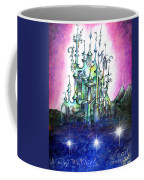 Emerald Palace Of Ancient Queen Of Space Aliens Coffee Mug