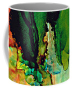 Emerald Waves  Coffee Mug