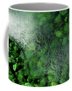 Emeralds Under Ice Coffee Mug