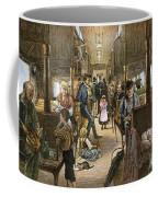 Emigrant Coach Car, 1886 Coffee Mug