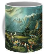 Emigrants Crossing The Plains Coffee Mug