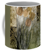 Emily Damask Tulips II Coffee Mug