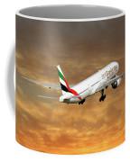 Emirates Boeing 777-36n 2 Coffee Mug