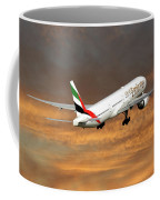 Emirates Boeing 777-36n 3 Coffee Mug