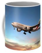 Emirates Boeing 777f A6-efm Coffee Mug