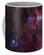 Emission Nebula Ngc 6188 Star Formation Coffee Mug