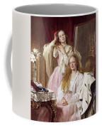 Emma And Federica Bankes Of Soughton Hall  Coffee Mug