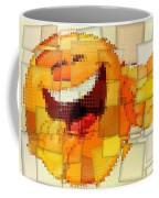 Emoticon Mosaic Cubism Coffee Mug