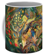 Emotion In Green Coffee Mug