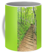 Empire Bluffs Trail Steps In Michigan Coffee Mug