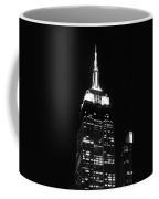 Empire State B W  Coffee Mug