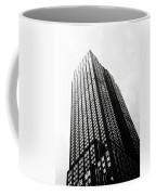 Empire State Building 1950s Bw Coffee Mug