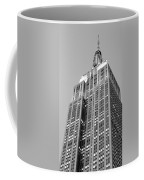 Empire State Building B W Coffee Mug