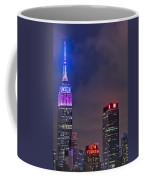 Empire State Building Esb At Night Coffee Mug