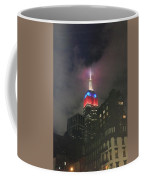 Empire State Building In The Fog Coffee Mug