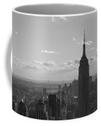 Empire State Building Panorama Coffee Mug