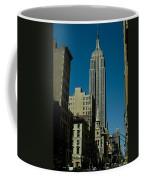 Empire State Building Seen From Street Coffee Mug