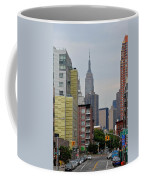 Empire State Empty Street Coffee Mug