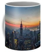 Empire State Sunset Coffee Mug