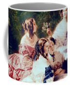 Empress Eugenie And Her Ladies In Waiting Coffee Mug