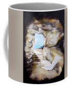 Empty Burial Tomb Coffee Mug by Clyde J Kell