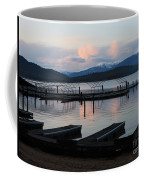 Empty Docks On Priest Lake Coffee Mug