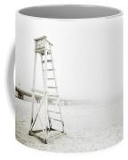Empty Life Guard Tower 1 Coffee Mug