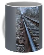 Empty Railroad Tracks Coffee Mug