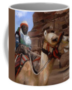 En Route To Akkhazneth Coffee Mug