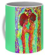 Encaustic  Love Coffee Mug
