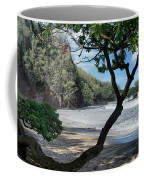 Enchanted Rocks Koki Beach Haneoo Hana Maui Hawaii Coffee Mug
