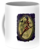 Enchanting Halloween Witch Coffee Mug