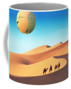 Encounter In The Gobi Coffee Mug