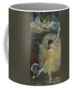 End Of An Arabesque Coffee Mug by Edgar Degas